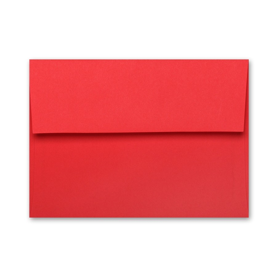 brite hue red 65 cover 4 125 x 5 50 folders a2 red envelopes