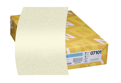 100 pack Neenah Classic Crest Natural White Card Stock 110 lb cover