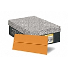 Basis Orange 70# #10 Square Flap Envelope